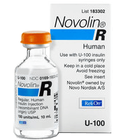 Regular Insulin Vial - Bing images
