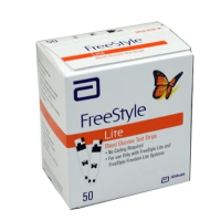 Abbott freestyle lite glucose test strips nfrs 50ct