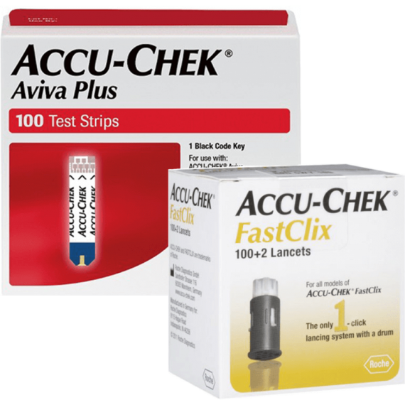 Accu-Chek Aviva Plus Test Strips 100 Ct