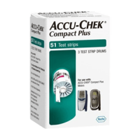 Accu-Chek Compact Plus test strips Case 48boxes of 51-Ct