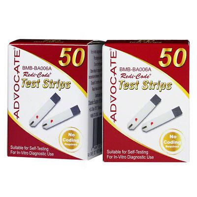 Advocate-Redi-Code-Plus-Glucose-Test-Strips-100