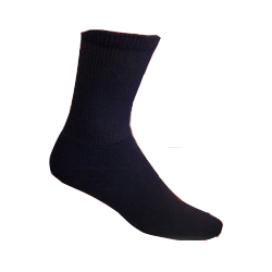 Black-Mens-Diabetic-Socks-3-pairs-Size-10-13