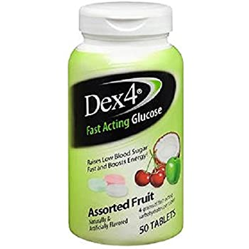 Dex4 Fast Acting Grape Glucose Tablet 10ct