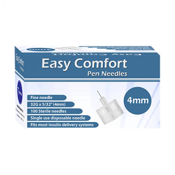Easy Comfort 32 Insulin Pen Needles 100 count