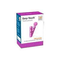 Easy touch twist lancets 28g 100 count