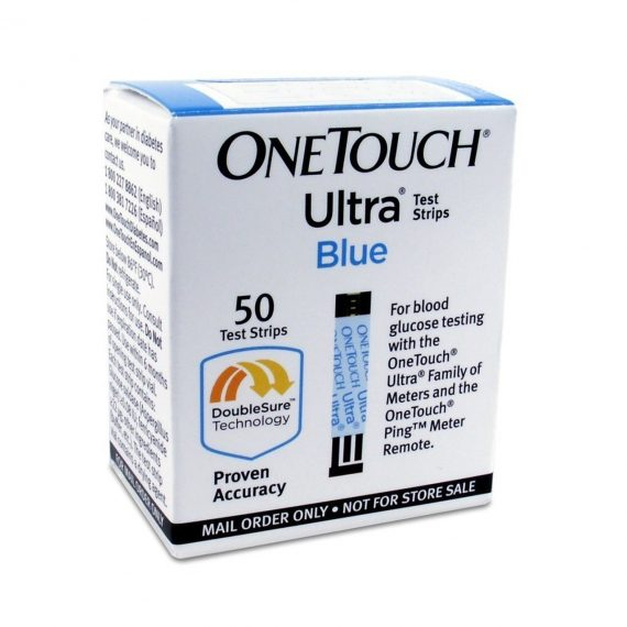 One Touch Ultra Test Strips – Box of 50