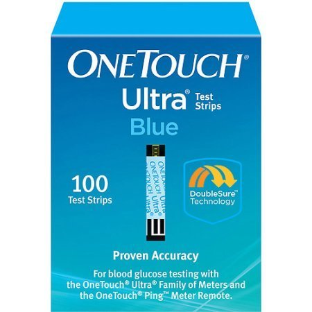 One Touch Ultra Test Strips 100 Ct. Retail