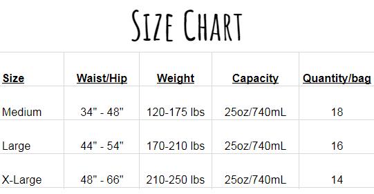 TRAN size chart2