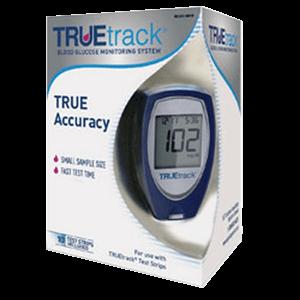 TRUEtrack-blood-glucose-monitoring-system-meter-kit