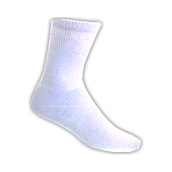 White-Mens-Diabetic-Socks-3-pairs-Size-10-13
