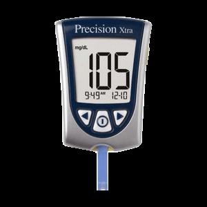 Abbott precision xtra diabetes meter kit
