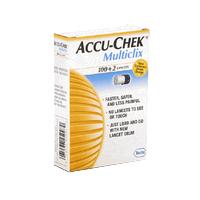 Accu-chek multiclix lancets 102ct