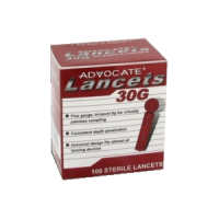 advocate lancets 100 count