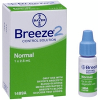 Bayer breeze2 control solution 2.5ml