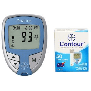 bayer-contour-meter-kit-and-50-test-strips