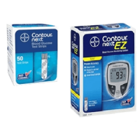 Bayer contour next meter kit and 50 test strips