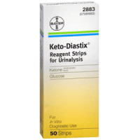 bayer ketostix reagent 50ct urinalysis strips
