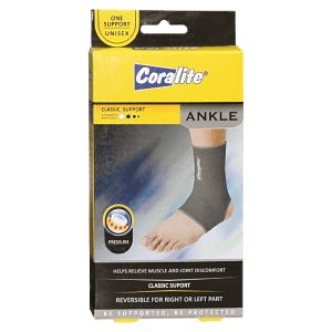 coralite-elastic-ankle-support
