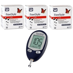 abbott freestyle freedom lite meter 150 test strips