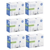 GE100 test strips 6 boxes of 50ct = 300ct total