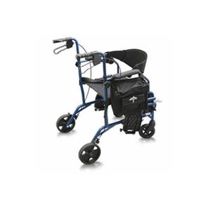 Medline Excel Translator Combination Rollator u0026 Wheelchair  sc 1 st  DiabetesSupplies4Less & Medline Excel Translator Combination Rollator u0026 Wheelchair ...