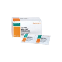 Smith and Nephew no-sting skin prep wipes 50/box