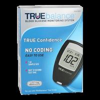 TRUEbalance blood glucose meter kit