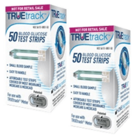 TrueTRAK blood glucose test strips 100ct