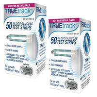 TrueTrack Blood Glucose Test strips 100 ct.