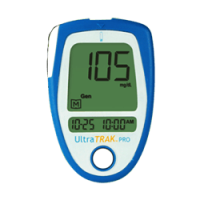 UltraTrak pro blood glucose meter