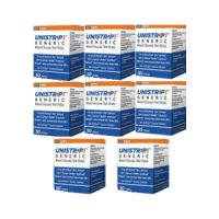 Unistrip 400ct test strips for use-with onetouch ultra meters 8boxes of 50ct