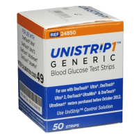 Unistrip1 generic blood glucose test strips