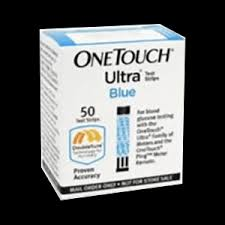 One Touch Ultra Test Strips – Box of 50 *SHORT DATE SALE*